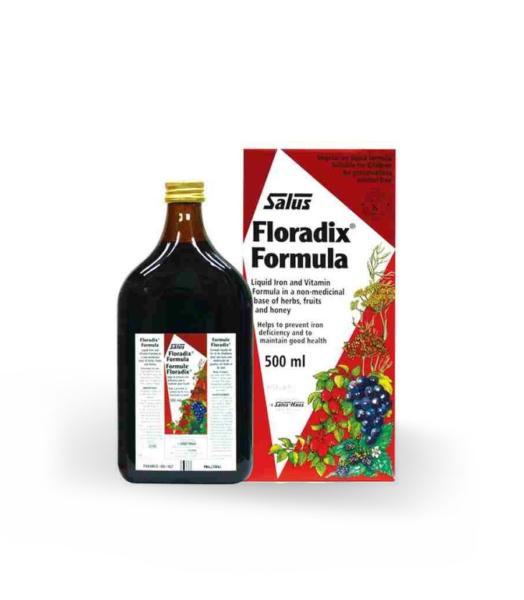 Floradix elixir - Herboldiet