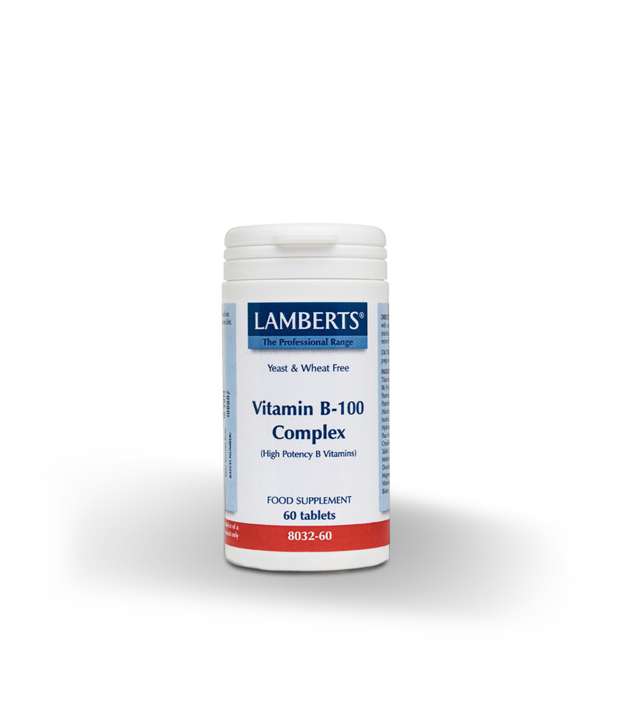Vitaminas B 100 - Herboldiet
